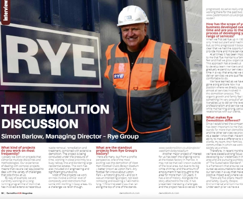 Demolition Hub Article