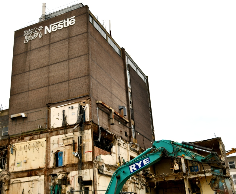 Nestle Factory Demolition